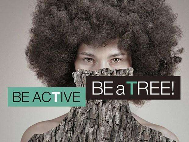 Be active be a tree! Il flash mob di Gruppi Iris Ceramica e GranitiFiandre