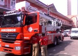 B-Fire di CTE in azione al Sambodromo di Rio de Janeiro