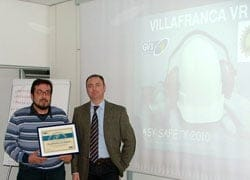 Alla filiale di Villafranca di Verona il premio Easy Safety indetto da Venpa