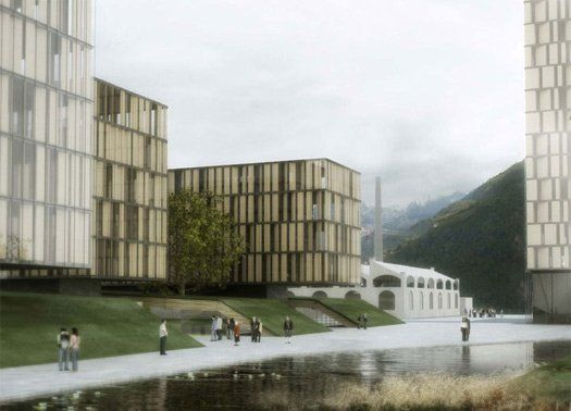Areale ferroviario di Bolzano: vince il team di Boris Podrecca