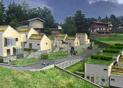 Wood Beton per il villaggio ecocompatibile di Selvino
