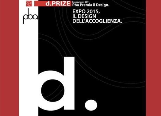 Al via il concorso internazionale d.prize Exposynergy 2011