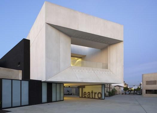 Almonte: Donaire Arquitectos trasforma l'antica cantina in teatro