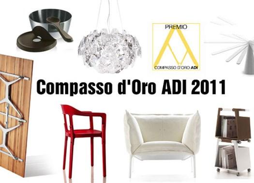 Compasso d'Oro ADI 2011: i vincitori