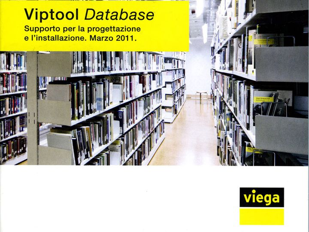 Viega Viptool Database sempre più funzionale e immediato