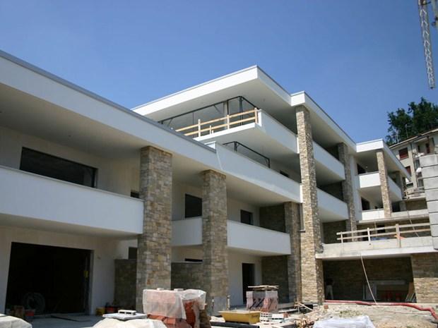 Winkler per un edificio residenziale in Brianza