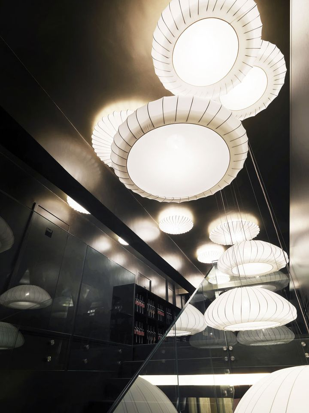 Axo Light per il ristorante W.O.K di Roma