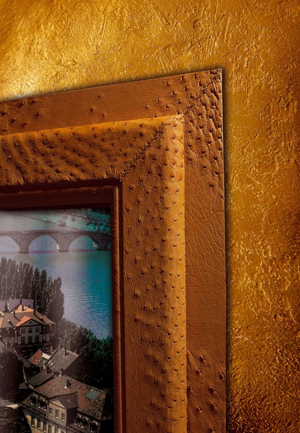 Tonini presenta Fashion Collection N°2 con finitura in vera pelle di struzzo ocra