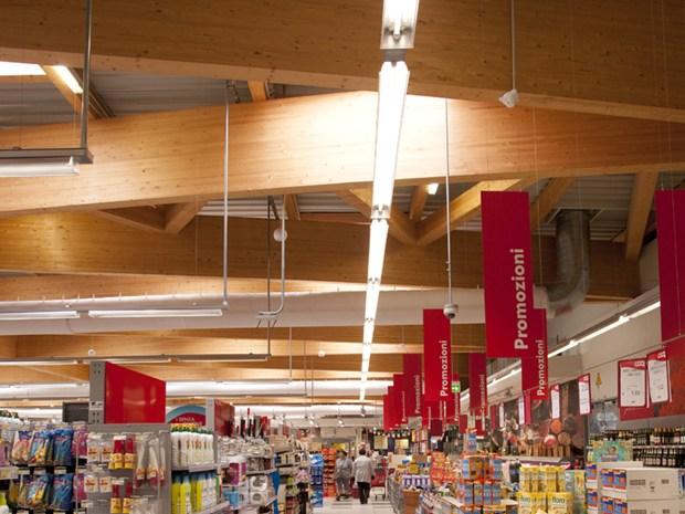 Sistem Costruzioni realizza la copertura del nuovo supermercato Coop di Maranello