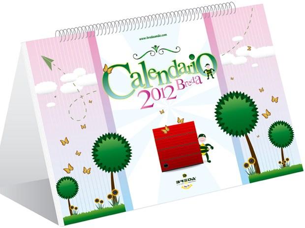 Breda Sistemi Industriali presenta il calendario 2012