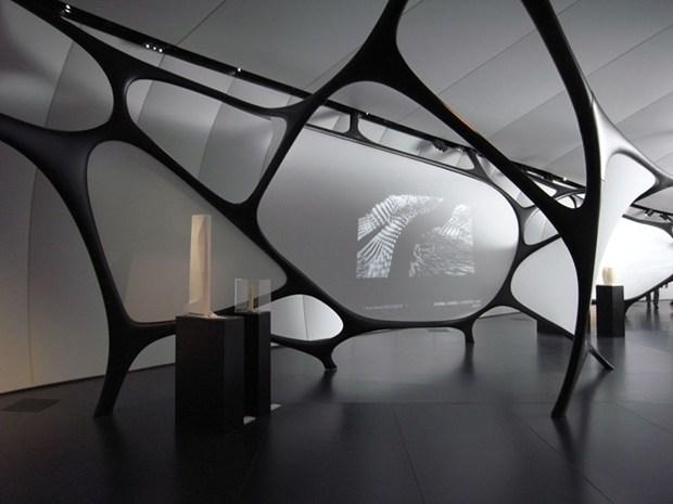 Artigo nello Chanel Mobile Art di Zaha Hadid