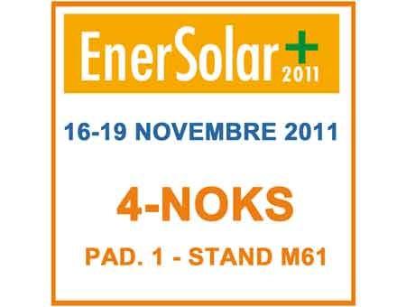 4-NOKS partecipa a Enersolar+