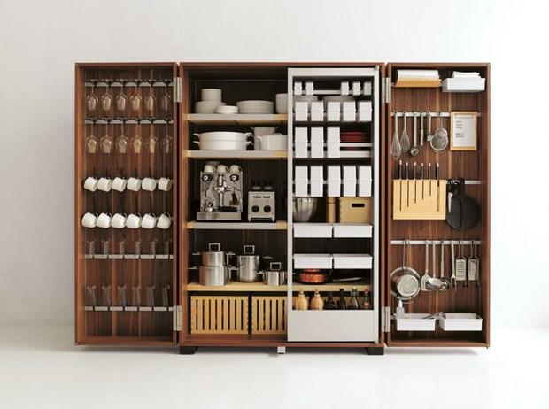 b2 di bulthaup: la cucina da mettere in valigia
