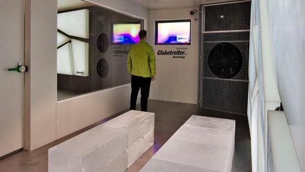 A Monaco la camera del freddo polare in HI-MACS®