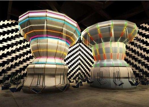Al MACRO Roma il ''Double Carousel'' di Carsten Höller