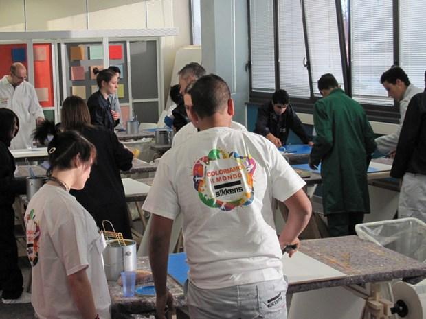 ''Impariamo a dipingere'': AkzoNobel per i ragazzi del Santa Lucia di Novara