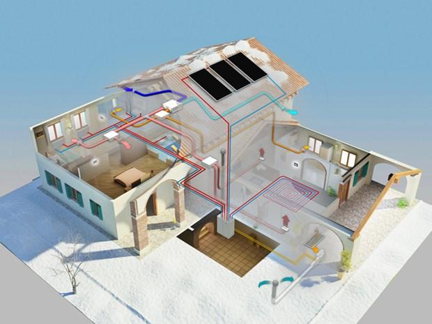 A Klimahouse 2012 Clivet presenta Elfosystem Gaia Maxi