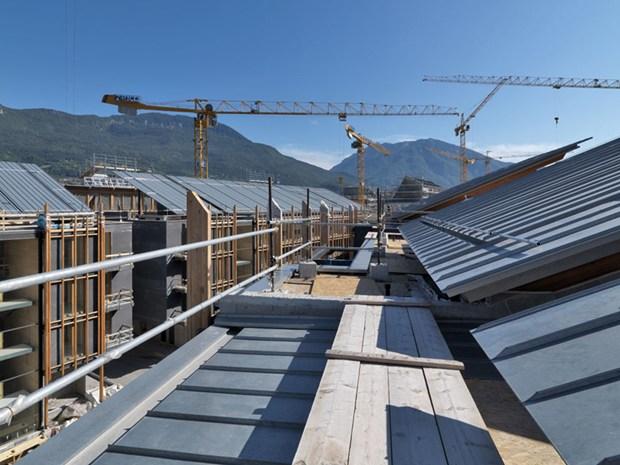 Zintek® per il quartiere Le Albere di Trento, progettato da Renzo Piano