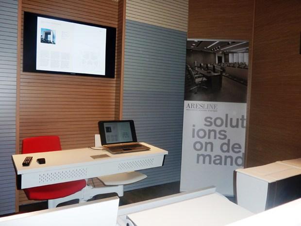 Ares Line: il nuovo Showroom di Parigi
