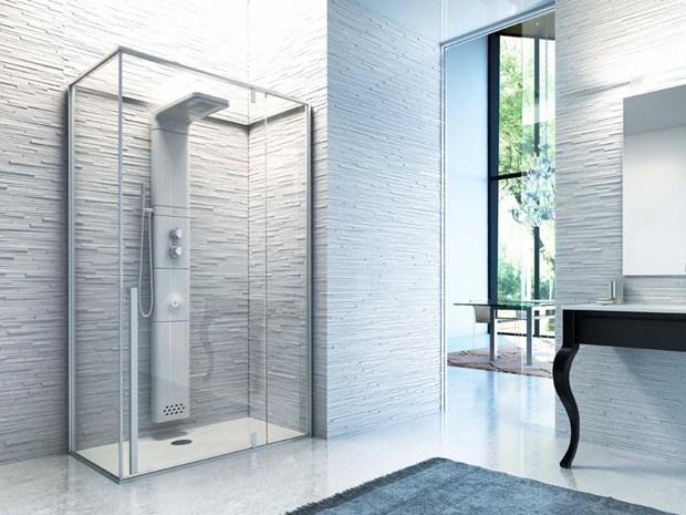 Babele composizione verticale, Glass