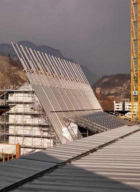 Zintek per MUSE, nuovo Museo tridentino di Scienze Naturali