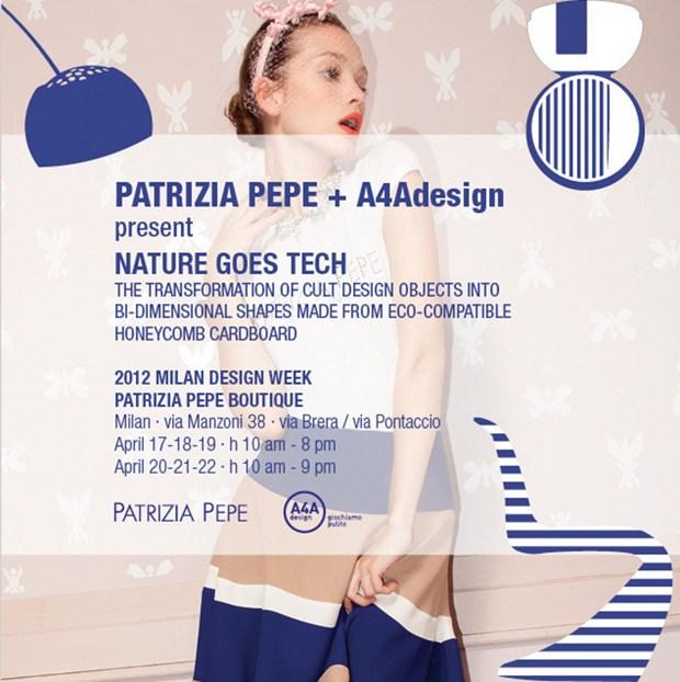 A4Adesign & Patrizia Pepe