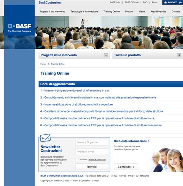 BASF lancia il nuovo portale realizzato da FKDesign