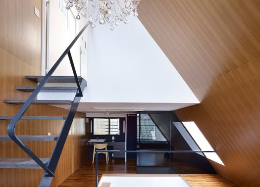 ZYX house: tre spazi diversi, tre diversi orientamenti