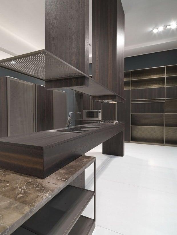 Aran Cucine, BELUGA design Ferruccio Laviani
