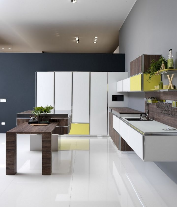 Aran Cucine, Uniqa design Giampiero Gialanella.