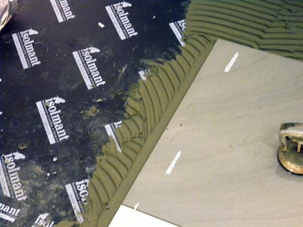 Isolmant isoltile all aeroporto di milano linate
