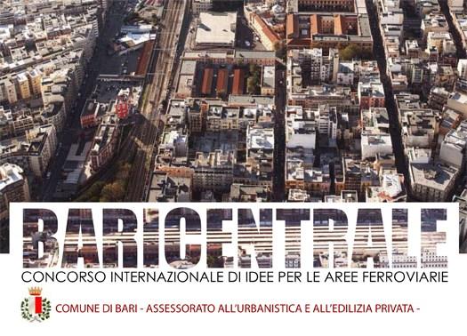 BARICENTRALE: presentato il Concorso per le aree ferroviarie