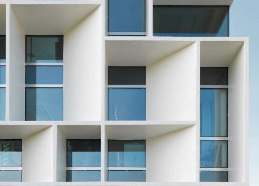 Bentini Headquarter: architettura razionalista di ispirazione Bauhaus