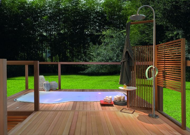 Colonna doccia + Faraway/Pool, Kos by Zucchetti
