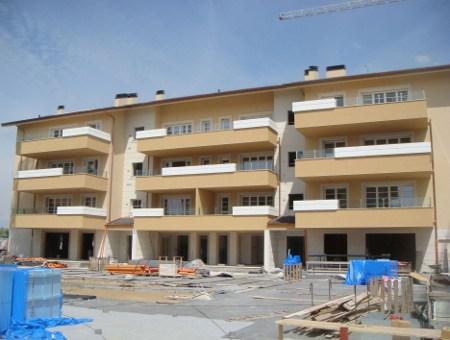 Il complesso residenziale oggetto dell'intervento