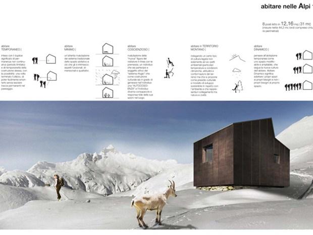 Abitare minimo nelle Alpi: mostra dei progetti vincitori a Sellero