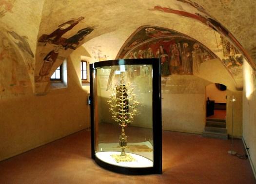 Manifattura aretina e senese, Albero d'oro - Lucignano, Museo Comunale
