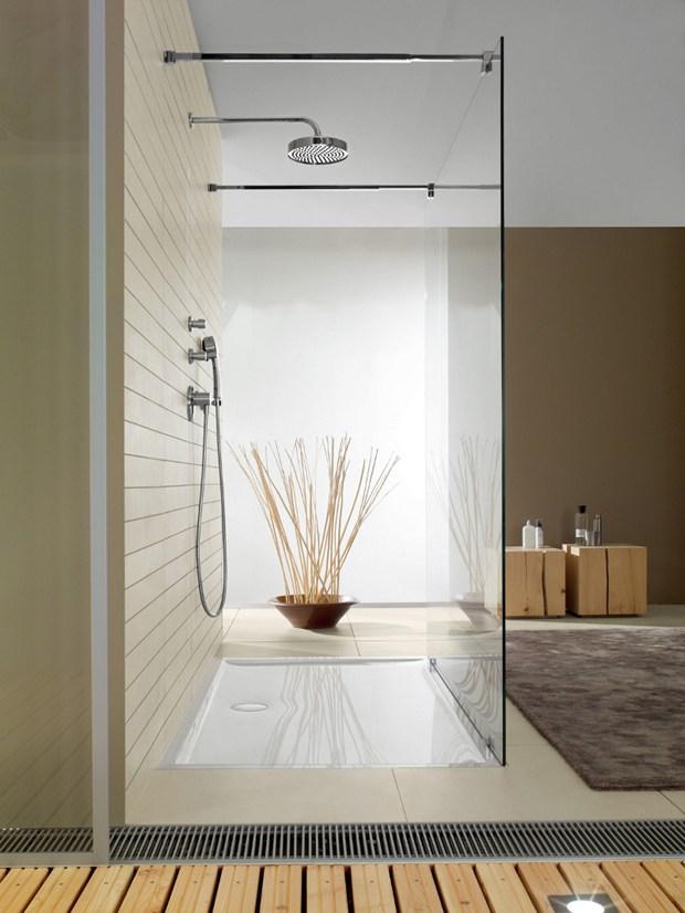 Villeroy & Boch, piatto doccia Futurion Flat
