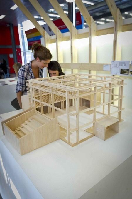 A MADEexpo Moretti Interholz con il progetto vincitore del concorso Instanthouse 2011