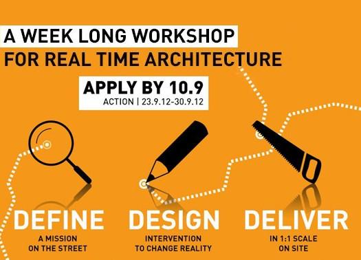 72HUA LAB Terni 2012: Definire, progettare e realizzare