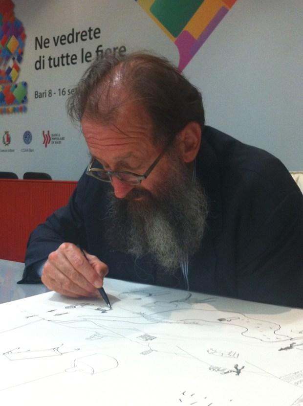 © Redazione Archiportale - Partita a scacchi sul disegno tra Michele De Lucchi e Vincenzo D'Alba