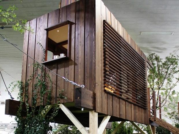 A Ediltek 2012 la casa è sull'albero: la bioarchitettura per vivere tra le nuvole