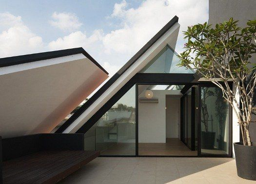 A Singapore la 'Casa Armadillo' firmata Formwerkz