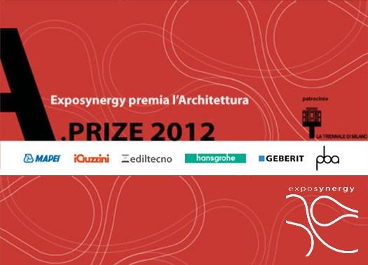 A.prize 2012: Exposynergy premia l'architettura