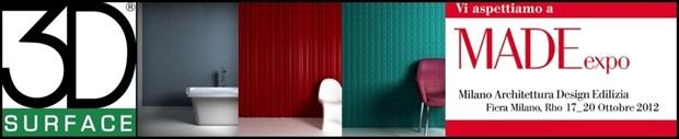 3D Surface a Made Expo presenta le suggestive pareti tridimensionali