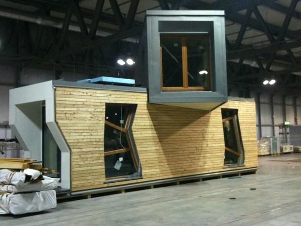 A Smart Village in mostra il prototipo di Passivhaus itinerante