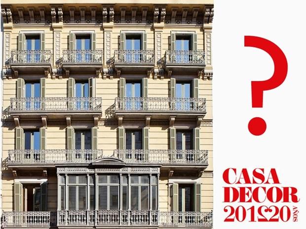Una facciata 'immaginaria' per la prossima edizione di Casa Decor