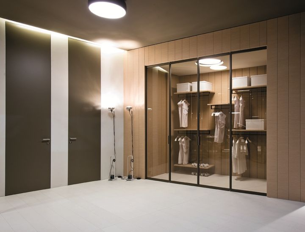 Pavilion Libro/Continuum closet, TRE-P & Tre-Più
