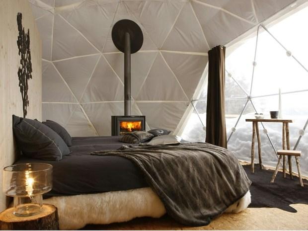 Whitepod Alpine Ski Resort: 15 igloo a 1700m sul livello del mare