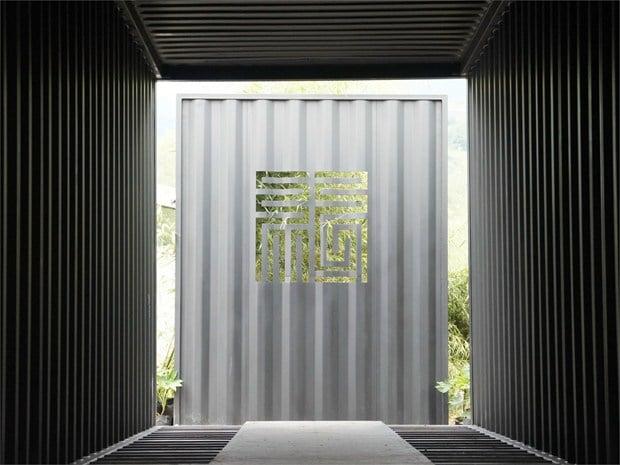 xiang xiang boutique hotel: 35 container per un albergo di lusso